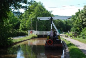 Canal through Talybont village